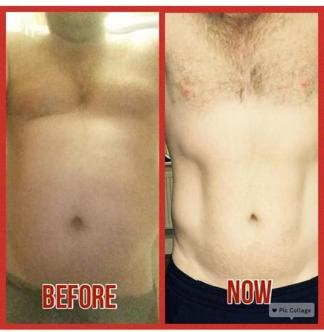 This client has gone on to accomplish much more than this photo shows
